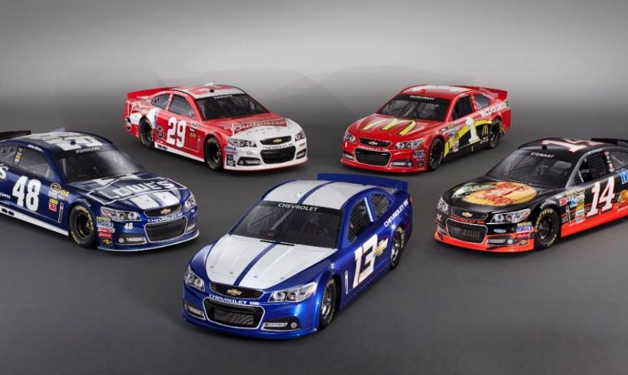 Chevrolet ss nascar sprint cup cars for 2013 unveiled for Auto paint shop las vegas
