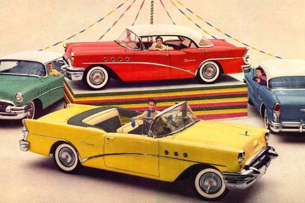 The year in cars 1955 mac 39 s motor city garage for Motor city gmc used cars