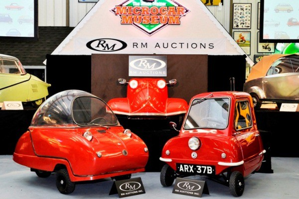 Tiny cars pull in big bucks at weiner museum sale mac 39 s for Motor city auto sales
