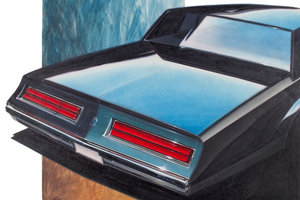 The Automotive Design Art Of Paul Deesen Mac S Motor City Garage