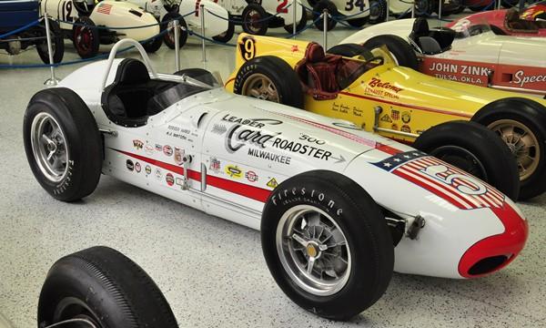 1959 Watson-Offy Leader Card Spl. 1959 Indy 500 winner