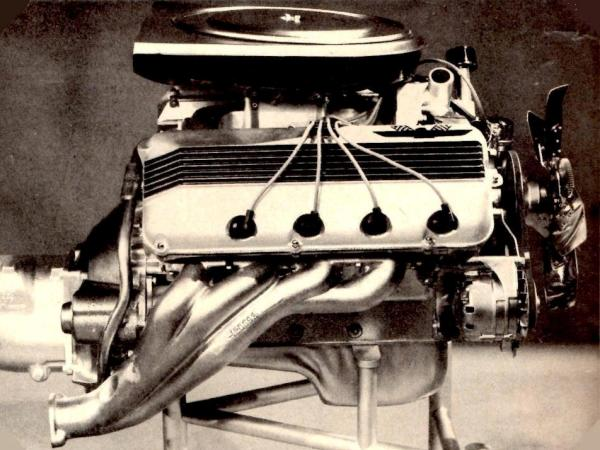 427-SOHC-Ford-early-airbox-and-manifolds