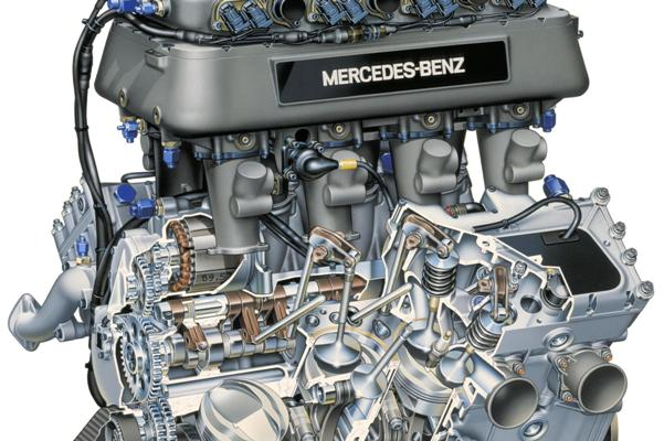 Mercedes Benz I V Pushrod E