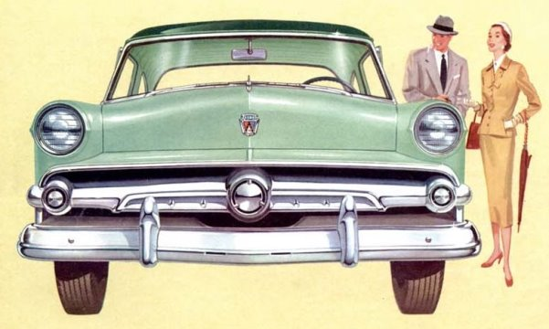 MCG Car Spotter's Guide to the 1952 to 1954 Ford | Mac's