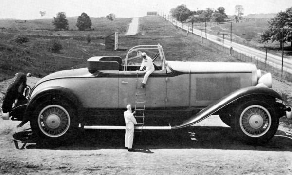 1931 Studebaker President Roadster right