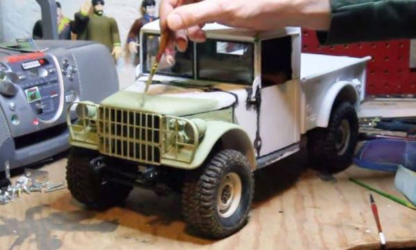 Video: See an amazing Dodge M37 R/C model built from scratch | Mac's Motor City Garage
