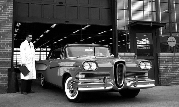 Testing the 1958 Edsel