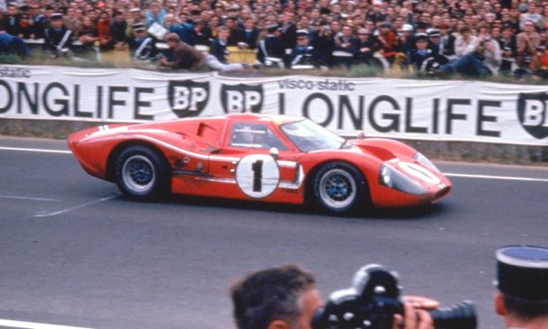 Looking for advertising banner template 1967-LeMans-