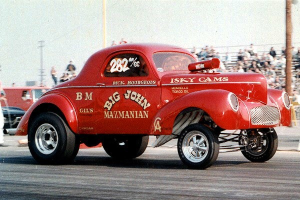 Five Willys Gassers That Left Their Mark on Drag Racing
