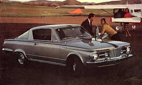 Beating Mustang to the Punch, Almost: The 1964 Plymouth Barracuda